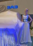 ZAZ Vida pick-up new car model presentation Royalty Free Stock Photo