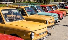 ZAZ w Skrunda, Latvia Zdjęcie Royalty Free