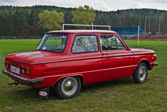 ZAZ Zaporozhets at car show Royalty Free Stock Image