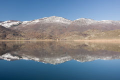 Zazari Lake, Northern Greece Royalty Free Stock Photography