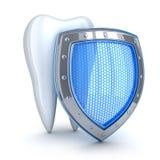 Ząb i błękitna strzała Obraz Royalty Free