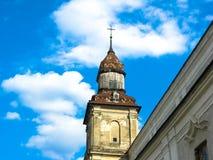 Zbarazh Ukraina, Marzec, - 30, 2008: Ko?ci?? Katolicki rozkaz bernardyny zdjęcie royalty free