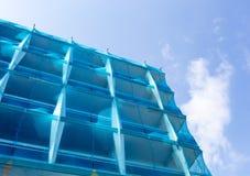 Zbawcza błękit sieć w budowie Zdjęcie Royalty Free