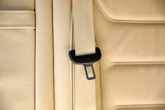 Zbawcza klamra w samochodzie fotografia stock