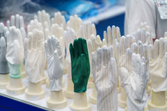 Zbawcza rękawiczka dla przemysłowego use Zdjęcie Stock