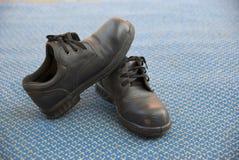Zbawczy buty dla pracownik firmy zdjęcia royalty free