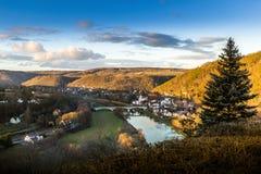 Zbecno wioska cesky krumlov republiki czech miasta średniowieczny stary widok obrazy royalty free