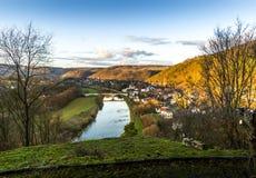 Zbecno wioska cesky krumlov republiki czech miasta średniowieczny stary widok zdjęcia stock