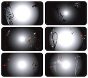 zbiór z wizytówki Obrazy Stock