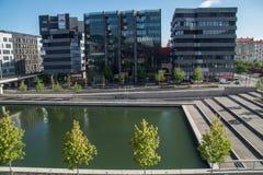 Zbieżność, Lyon, Rhone, France Zdjęcia Stock