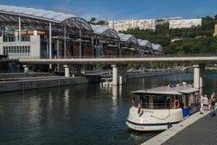 Zbieżność, Lyon, Rhone, France Obraz Royalty Free