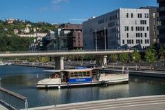 Zbieżność, Lyon, Rhone, France Fotografia Royalty Free
