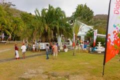 Zbierać dla dawać przy dorocznym wydarzeniem w dowietrznych wyspach Zdjęcie Royalty Free