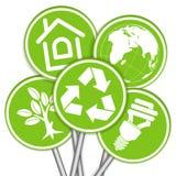 Zbiera Środowisko Sztandar ilustracja wektor