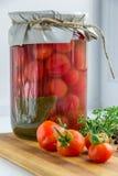 Zbierać warzywa w zimie konserwacja Zdjęcie Royalty Free