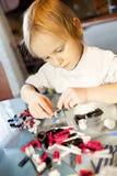 zbieracka dziecko budowa wyszczególnia set Zdjęcia Stock