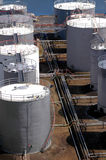 zbiorników zasobnikowych paliwa Zdjęcia Royalty Free
