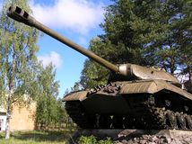 Zbiornik IS-3 obraz stock