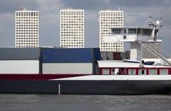 Zbiornik barka Fotografia Stock