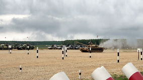 Zbiornik bitwa w polu zbiory wideo