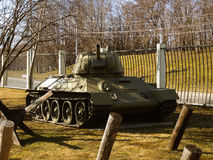Zbiornik Czerwony Radziecki wojsko obraz royalty free