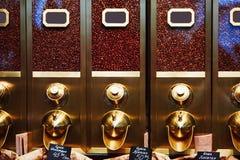 zbiornik dla przechować kawowe fasole Obraz Royalty Free