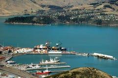 zbiornik portu Zdjęcie Royalty Free