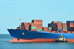 Zbiornik sterta na zafrachtowanie statku Zdjęcie Stock