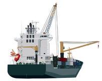 zbiornika ładowania portu statek royalty ilustracja
