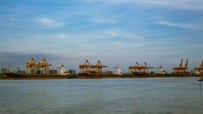 Zbiornika ładunku statek, importa eksport, biznesowy logistycznie łańcuchu dostaw transportu pojęcie zdjęcie wideo