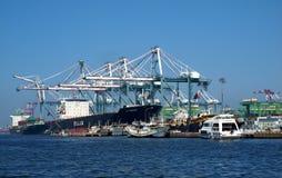 zbiornika doku Kaohsiung ładowanie Fotografia Royalty Free