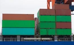zbiornika Gdansk Poland portu statek Fotografia Stock