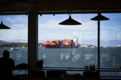 zbiornika Gdansk Poland portu statek Fotografia Royalty Free