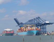 zbiornika Gdansk Poland portu statek Zdjęcie Stock