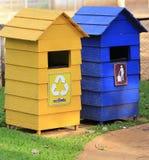 Zbiornika odpady Zdjęcie Royalty Free
