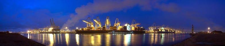 zbiornika panoramy statek zdjęcie royalty free