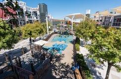 Zbiornika park w W centrum Las Vegas Obrazy Stock