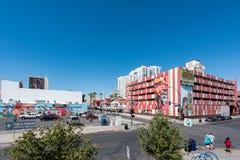 Zbiornika park w W centrum Las Vegas Fotografia Royalty Free