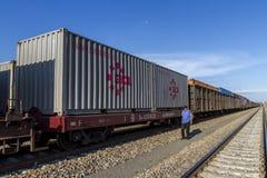 Zbiornika pociągu ciężarówki przegląd Zdjęcie Royalty Free