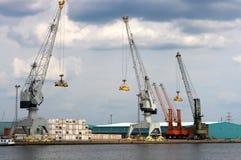 zbiornika port Fotografia Stock