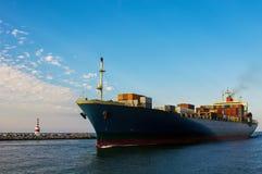 Zbiornika statek fotografia royalty free