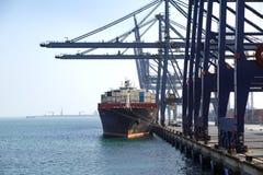 Zbiornika statek Basht przy cumowaniem Fotografia Royalty Free