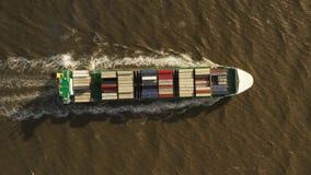Zbiornika statek w eksporcie i imporcie Mi?dzynarodowej wysy?ki ?adunek zbiory wideo
