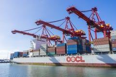 Zbiornika statek w porcie Melbourne, Australia Zdjęcie Stock