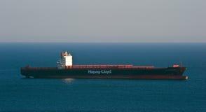 Zbiornika statku Kyoto Ekspresowa pozycja na drogach przy kotwicą Nakhodka Zatoka Wschodni (Japonia) morze 02 03 2015 Zdjęcie Stock