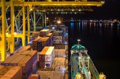 Zbiornika terminal Zdjęcia Royalty Free