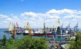 Zbiornika terminal, głębinowy port Fotografia Stock