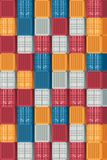 Zbiornika transportu i logistyk deseniowy tło Vecto Obrazy Stock