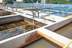 Zbiorniki dla uzdatnianie wody Obraz Royalty Free