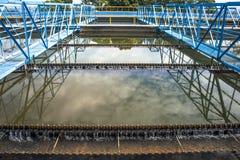 Zbiorniki dla uzdatnianie wody Obrazy Royalty Free